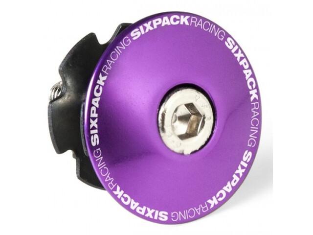"""Sixpack Aheadkappe 1 1/8"""" mit Kralle dusk purple"""